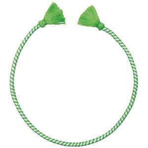 (まとめ)アーテック かんたんねじりはちまき 白/緑【×30セット】 - 拡大画像