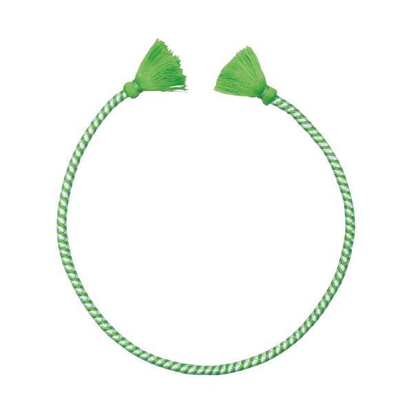 (まとめ)アーテック かんたんねじりはちまき 白/緑【×30セット】