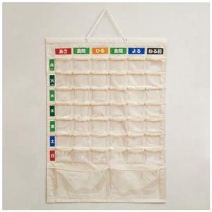 (まとめ)ナカバヤシ お薬カレンダー壁掛けタイプLL IF-3013【×3セット】 - 拡大画像