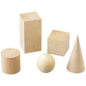 (まとめ)川合木工所 ぶな材ブロック 球 径5cm【×10セット】 - 拡大画像