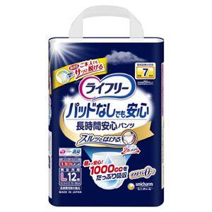 (まとめ)ユニ・チャーム ライフリー尿とりP無長時間安心PL12枚【×3セット】 - 拡大画像