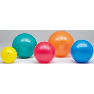 (まとめ)トーエイライト ボディーボール45cm 黄 H7260【×3セット】 - 拡大画像