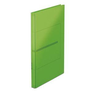 (まとめ)プラス 背幅伸縮フラット セノバスEX FL-021SL 緑【×20セット】 - 拡大画像