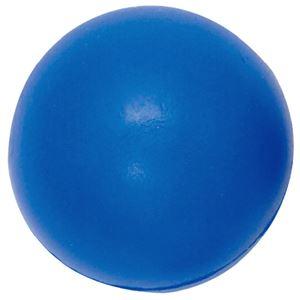 (まとめ)DLM やわらかいボール 青 B6341B【×2セット】 - 拡大画像