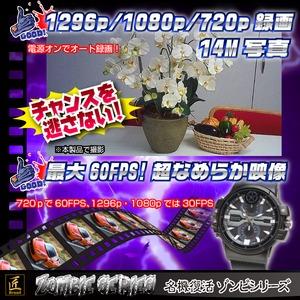 【小型カメラ】腕時計型カメラ(匠ブランド ゾンビシリーズ)『Z-W016』 f04