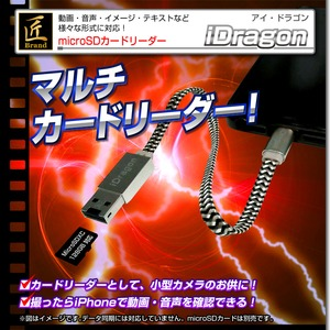 microSDカードリーダー (匠ブランド)『iDragon』(アイ・ドラゴン) - 拡大画像