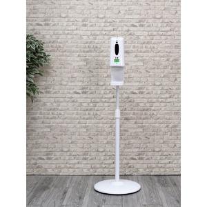自動温度測定デイスペンサー 専用スタンド 高さ調節可能(本体別売り)LIENSD-WH - 拡大画像