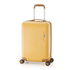 スーツケース/キャリーバッグ 【イエロー】 71L ダイヤル式 TSAロック アジア・ラゲージ 『MAX SMART』 - 拡大画像
