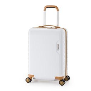 スーツケース/キャリーバッグ 【ホワイト】 71L ダイヤル式 TSAロック アジア・ラゲージ 『MAX SMART』 - 拡大画像