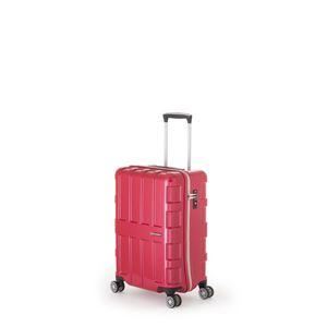 ファスナー式スーツケース/キャリーバッグ 【パープリッシュピンク】 40L 機内持ち込み可能サイズ アジア・ラゲージ 『MAX BOX』 - 拡大画像