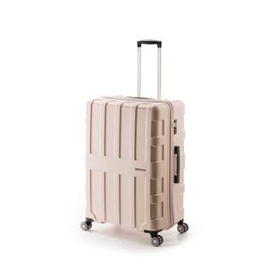 大容量スーツケース/キャリーバッグ 【ライトピンク】 96L 軽量 アジア・ラゲージ 『MAX BOX』 手荷物預け無料最大サイズ - 拡大画像
