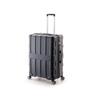 大容量スーツケース/キャリーバッグ 【オールネイビー】 96L 軽量 アジア・ラゲージ 『MAX BOX』 手荷物預け無料最大サイズ - 拡大画像
