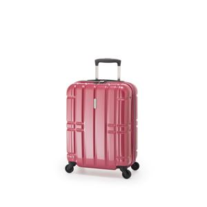 スーツケース/キャリーバッグ 【ピンク】 拡張式(40L+7L) 機内持ち込み可 ファスナー アジア・ラゲージ 『ALIMAX』 - 拡大画像