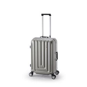 スーツケース/キャリーバッグ 【カーボンシルバー】 52L ダイヤル式 TSAロック アジア・ラゲージ 『MAX SMART』 - 拡大画像