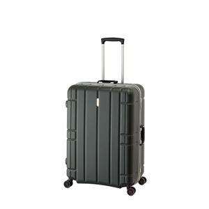 スーツケース/キャリーバッグ 【マットブラック】 100L 手荷物預け無料最大サイズ TSAロック アジア・ラゲージ 『AliMaxG』 - 拡大画像