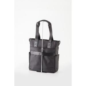 ビジネスバッグ/トートバッグ 【ブラック】 H33×W40×D14cm B4サイズ