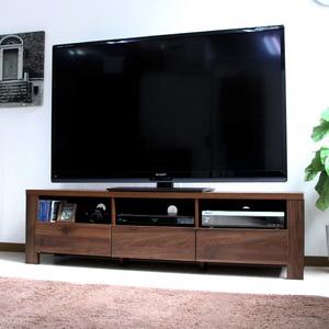 テレビ台 60インチ液晶TV対応 TV台 150cm幅 ダークブラウン