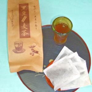 黒豆麦茶/ティーバッグ 【20包×3袋セット】 ノンカロリー ノンカフェイン 熱風焙煎方式 - 拡大画像