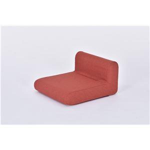 座椅子 パーソナルチェア 【ウォームレッド】 コンパクト 日本製 『とこざいす』 - 拡大画像
