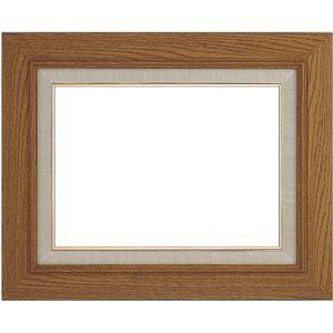 シンプル仕様 油絵額縁/油彩額縁 【SM チーク】木製 - 拡大画像