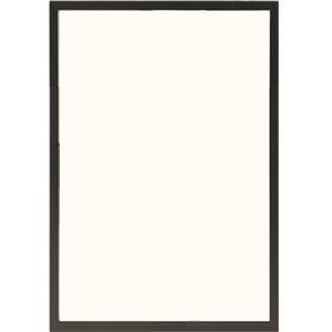 多目的 フレーム/額縁 【B3 ブラック】 表面カバー:UVカット機能付きPET 『かる!フレーム』  - 拡大画像