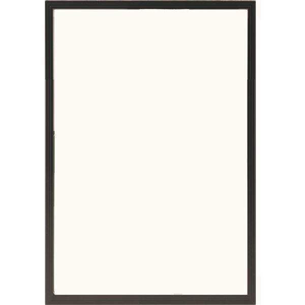 多目的 フレーム/額縁 【B3 ブラック】 表面カバー:UVカット機能付きPET 『かる!フレーム』