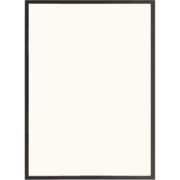 多目的 フレーム/額縁 【B2 ブラック】 表面カバー:UVカット機能付きPET 『かる!フレーム』