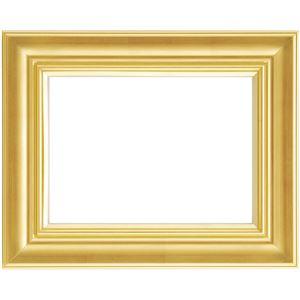 軽量 油絵額物/油額 【F8 ゴールド】 表面カバー:アクリル 『まじかるフレーム』 - 拡大画像