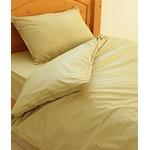 ダニ 花粉 ほこり を防ぐ布団カバー【ベッドタイプ 敷き布団カバー/ダブル/スプリンググリーン】アレルギー ペットの毛 ハウスダスト 丸洗いOK