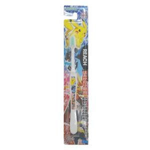 (まとめ)銀座ステファニー リーチ歯ブラシ リーチキッズ ポケットモンスターはえかわり期用(6〜12才) 【×5点セット】