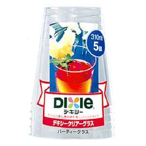 日本デキシー クリアーグラス(パーティー) 310ml 5個 × 5 点セット - 拡大画像