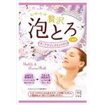 牛乳石鹸共進社 お湯物語 ぜいたく泡とろ 入浴料 ティアラジャスミンの香り 1包・30g × 5 点セット