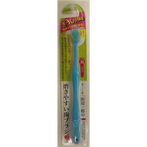 (まとめ)ライフレンジ LT-30田辺一郎の磨きやすい歯ブラシ ワイド ふつう 【×5点セット】
