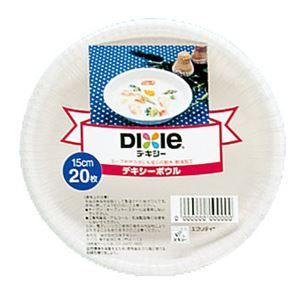 日本デキシー デキシーボウル 15cm 20枚 × 5 点セット - 拡大画像