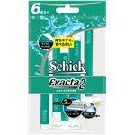 (まとめ)シック(Schick) エグザクタ2(6本入) 【×5点セット】