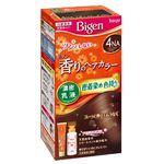 (まとめ)ホーユー ビゲン 香りのヘアカラー 乳液 4NA ナチュラリーブラウン 【×3点セット】
