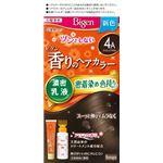 (まとめ)ホーユー ビゲン 香りのヘアカラー 乳液 4A アッシュブラウン 【×3点セット】