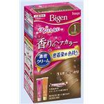 (まとめ)ホーユー ビゲン 香りのヘアカラー クリーム 1 かなり明るいライトブラウン 【×3点セット】
