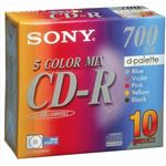 ソニー CD‐R カラー10P 10CDQ80EXS × 3 点セット