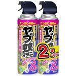 (まとめ)アース製薬 ヤブ蚊マダニジェット 480ML 2本パック 【×3点セット】