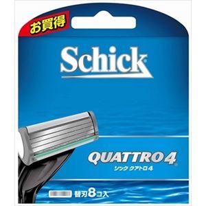 シック(Schick) クアトロ4替刃(8コ入) × 3 点セット - 拡大画像