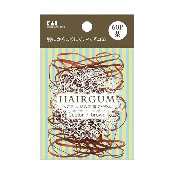 (まとめ)KQ0018 ゴムリング 茶 60本 【× 12 点セット】
