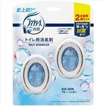 (まとめ)ファブリーズW消臭トイレ用消臭剤 ブルー・シャボン2個パック 【× 12 点セット】