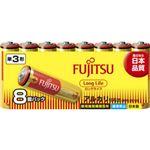 (まとめ) 富士通ロングライフ単3 8個 LR6FL(8S) 【×60セット】