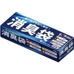 (まとめ) AS05 消臭袋Mサイズ 100枚 【×24セット】