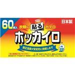 (まとめ) ホッカイロ 貼るレギュラー 60個入 【×4セット】