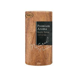 エステー トイレの消臭力 プレミアムアロマ Premium Aroma ラスティックリラックス 消臭芳香剤 消臭剤 トイレ 400mL 【×5セット】 - 拡大画像