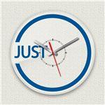 壁掛け時計/デザインクロック 【JUST】 直径30cm アクリル素材 『MYCLO』 〔インテリア雑貨 贈り物 什器〕
