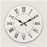 壁掛け時計/デザインクロック 【シンプル01】 直径30cm アクリル素材 『MYCLO』 〔インテリア雑貨 贈り物 什器〕