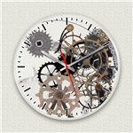 壁掛け時計/デザインクロック 【デウスエクス・マキナ】 直径30cm アクリル素材 『MYCLO』 〔インテリア雑貨 贈り物 什器〕